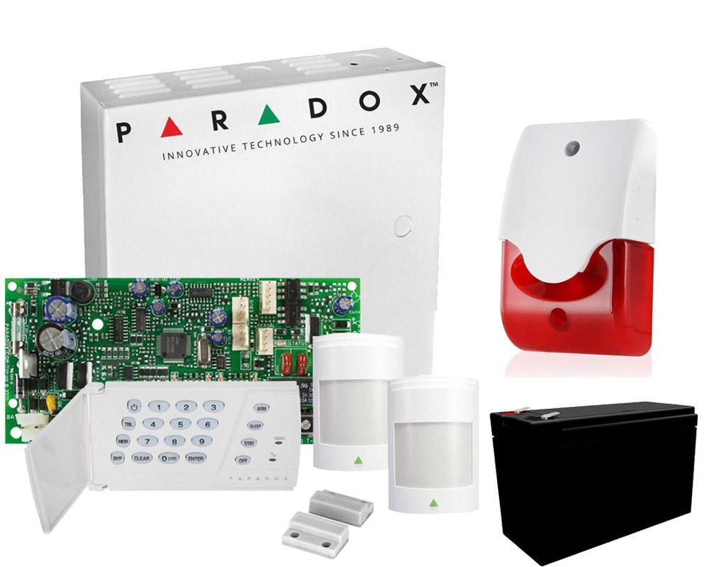 Producator:Paradox Cod produs:PARADOX-INT    Sistem de alarma PARADOXinterior 3zone. Ideal pentru securizarea obiectivelor mici. Se poate extinde pana la 5 detectori. Calitate Paradox, fabricat in Canada. Cel mai bun pret din piata pentru… READ MORE